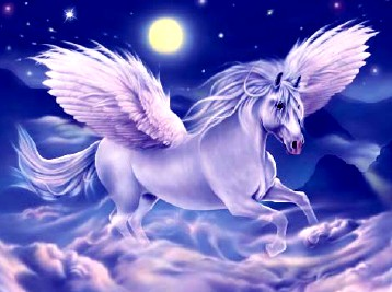 Horse Related Mythical Creatures - Pegasus