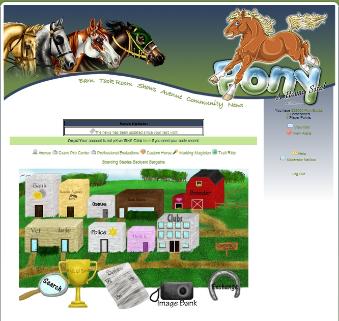 Pony Sim Online Horse Game Preview