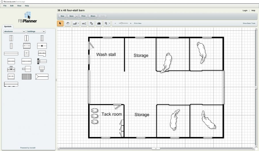 Fbi planner let 39 s you design your barn online for free for Design your own barn online