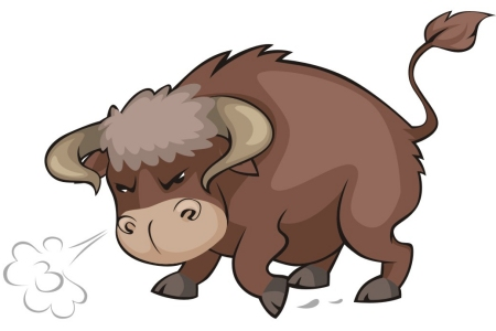 Free Horse Vector Graphics #8 - Bull Graphic
