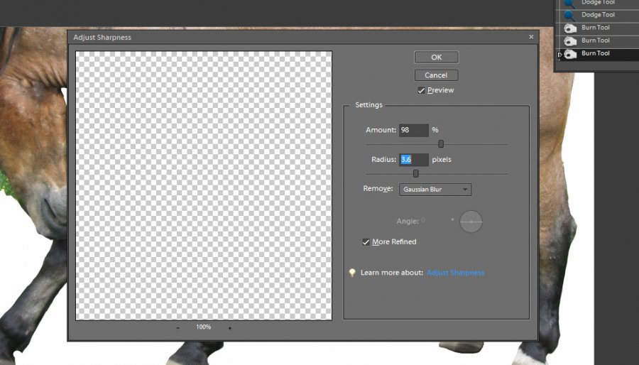 How to Draw Hooves on Photoshop