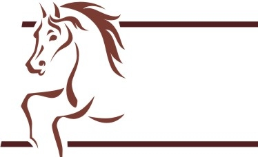 Free Horse Vector Graphics #19 - Horse Banner Logo