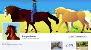 Jumpy Horse Game for iPhone and iPad Releases Update
