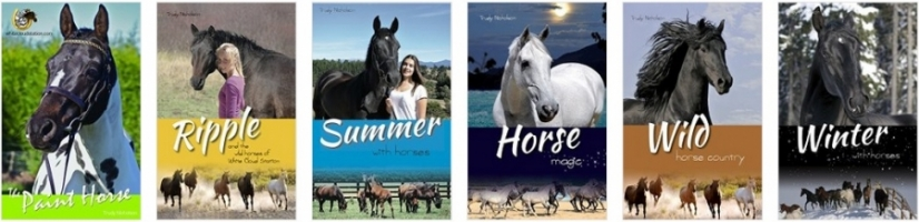 Wild Horses of White Cloud Station Giveaway Winners