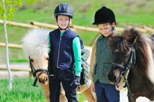 Riding Horses With Kids