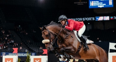 The Queen of Show Jumping Wins In Paris