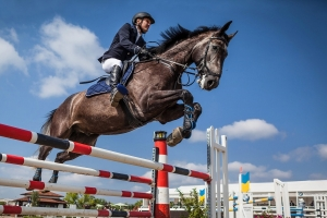 Gaza Riders Back in the Saddle After COVID Lockdown
