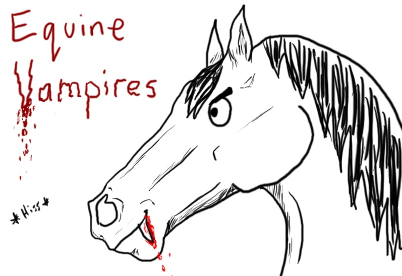 How To Tell If Your Horse Is A Vampire